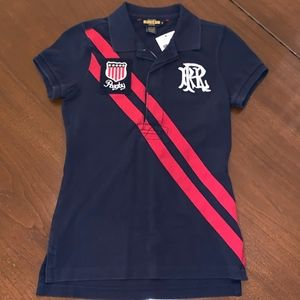 NWT. Ralph Lauren Rugby Polo Womens Small
